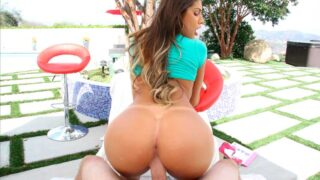 Last Creampie for August Ames, POV Style